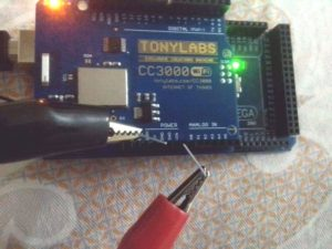 External Voltage Supplied to CC3000 Wifi Shield with Arduino