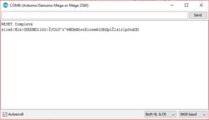 reset esp8266 output after reset