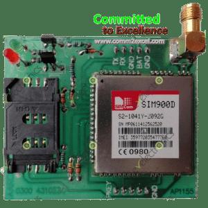 SIM900D GSM Module Board