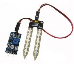 interfacing soil moisture sensor with arduino