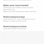 disable apps from being killed by android os