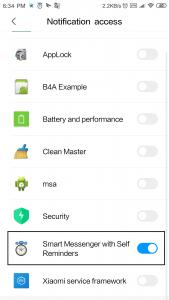 Notification Translator app