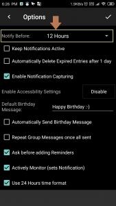 SMS based Reminder