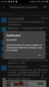 Android Notification Translation